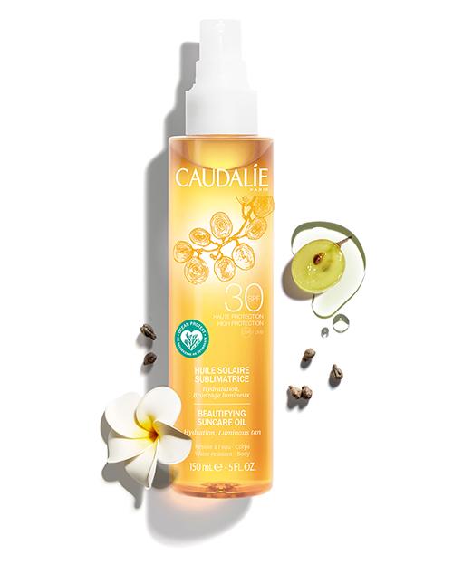 Sonnenöl für eine schön gebräunte Haut LSF30
